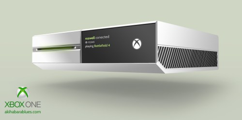 Xbox One White, by Roswell