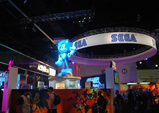 El stand de Sega en el E3 2013