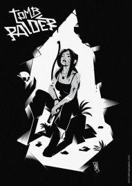Vincent Roché reinterpretando Tomb Raider