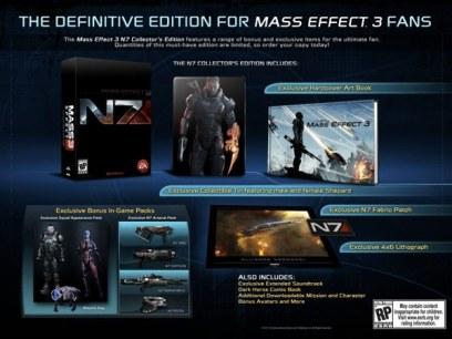 Mass Effect 3 Coleccionista