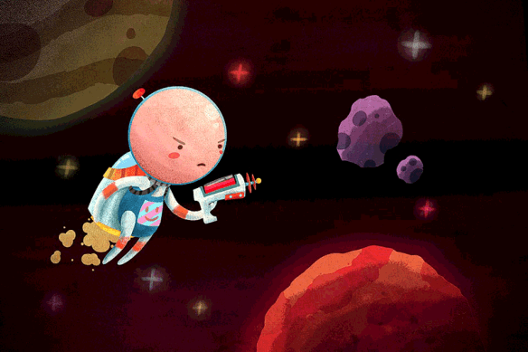 DOT Space Hero