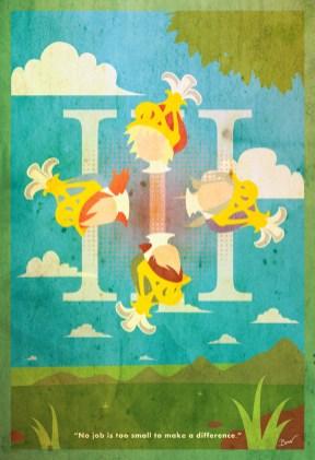 FFXIII Minimalist Poster