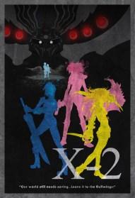 FFX-2 Minimalist Poster