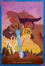FFX Minimalist Poster