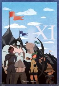 FFXI Minimalist Poster