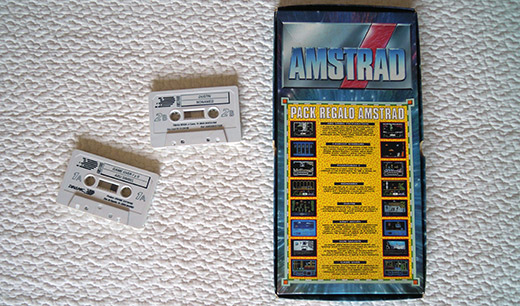 Amstrad CPC 464 Included Games 2