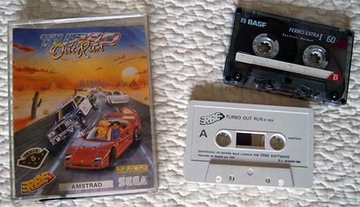 Amstrad CPC 464 Turbo OutRun