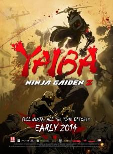 Poster de Yaiba Ninja Gaiden Z para la Gamescom 2013