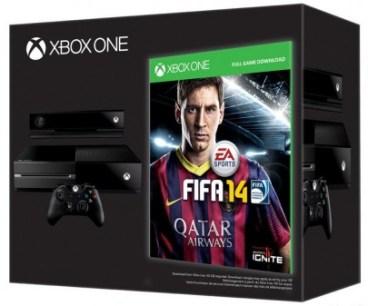 Xbox One con Messi en la caja