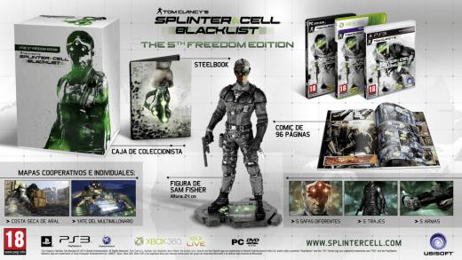 5th Freedom Edition de Splinter Cell Blacklist