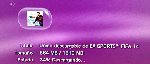 Demo FIFA 14 PS3