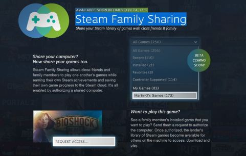 Steam Family