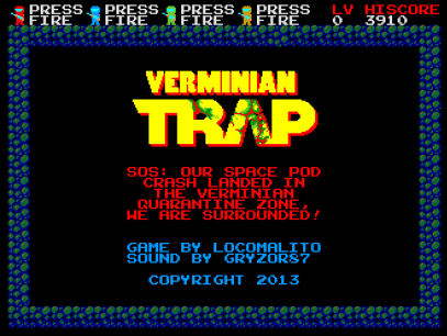 Verminian Trap Screem