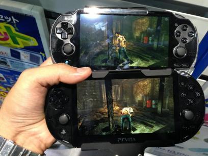 Comparando los dos modelos de PS Vita