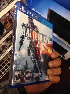 Caja de Battlefield 4 para PS4