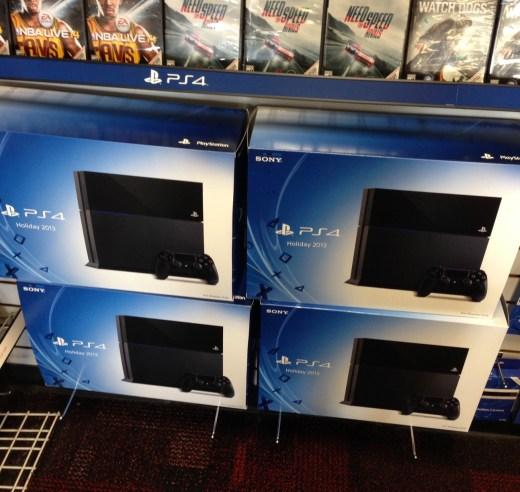 Caja de PS4
