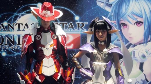 TGS 2013 Babes Phantasy Star Online