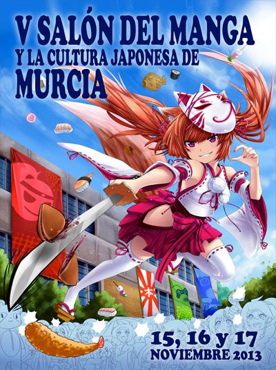 Salon del Manga de Murcia Cartel