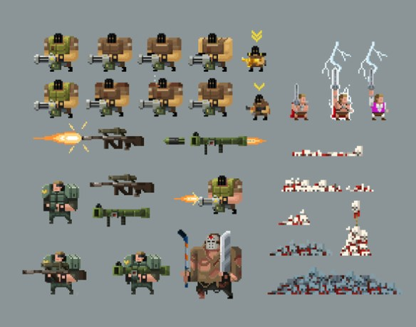 Broforce Enemigos