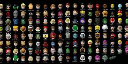 La TREMENDA plantilla de personajes presentes en el juego. Alucinad.