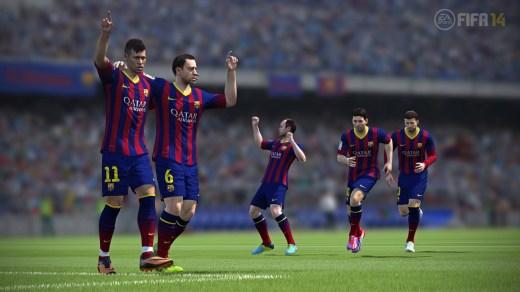 FC Barcelona en FIFA 14