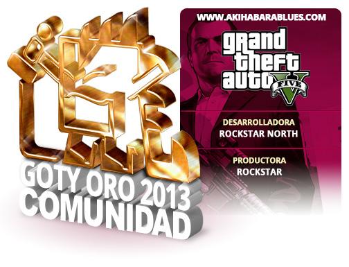 GOTY 2013 Oro GTA V