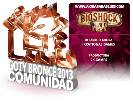 GOTY 2013 Bronce Bioshock Infinite