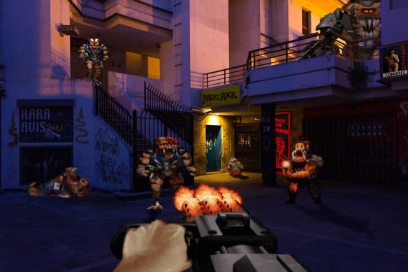 Real Bits - Duke Nukem 3D Nightlife District