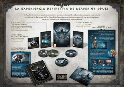 La Collector´s Edition de Diablo III: Reaper of Souls en su máximo esplendor