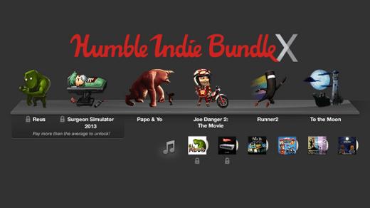 humble bundle X