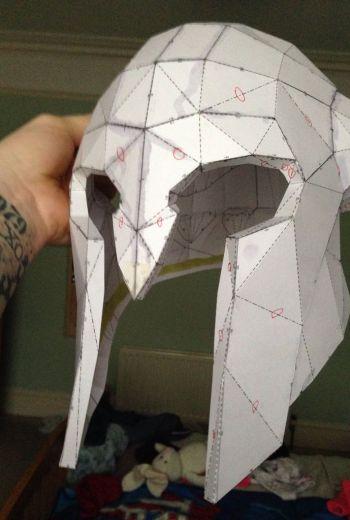 skyrim paper
