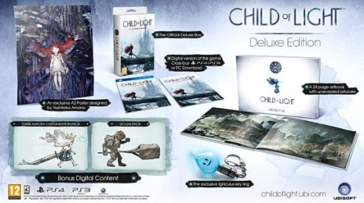 Deluxe Edition de Child of Light