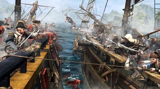 Batalla naval Assassin's Creed