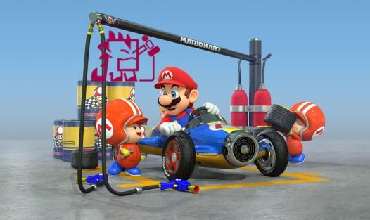 Mario Kart 8 Godzi