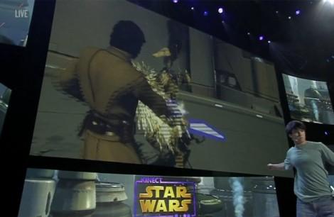 El cachondeo con Kinect Star Wars en el E3 fue antológico, con intento de engañar al público incluido