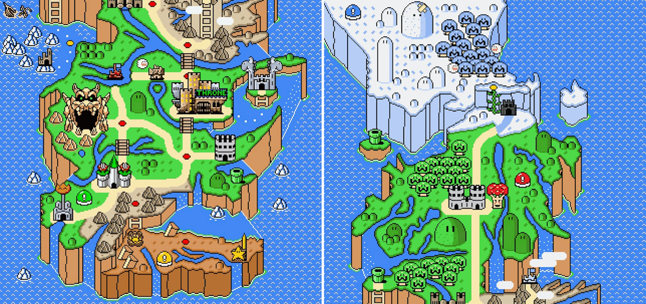 Video de game of thrones super mario world gumiabroncs