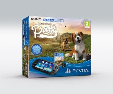 Pack PS Vita PCH-2000 + PS Vita Pets