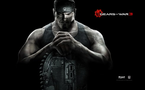 Marcus en Gears of War 3