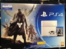 Exterior pack PS4 + Destiny