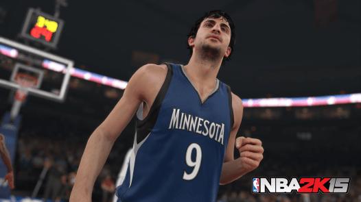 NBA 2K15 Ricky Rubio screen WM