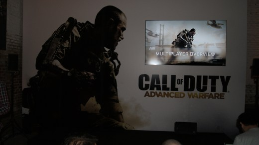 Presentación Call of Duty Advanced Warfare