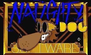 Logo original de Naughty Dog