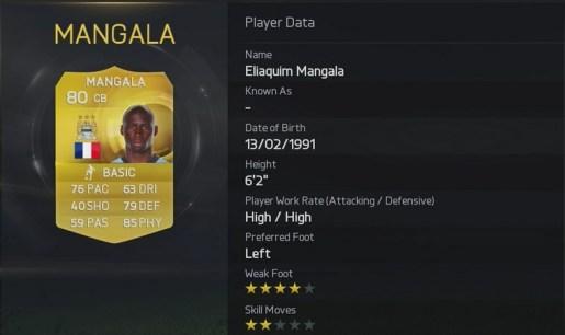 Fifa 15 Mangala