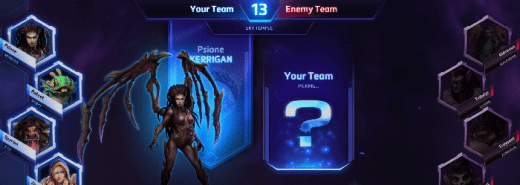 heroes of the storm logo seleccion personajes