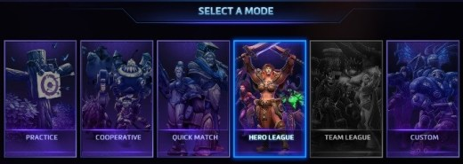heroes of the storm logo seleccion