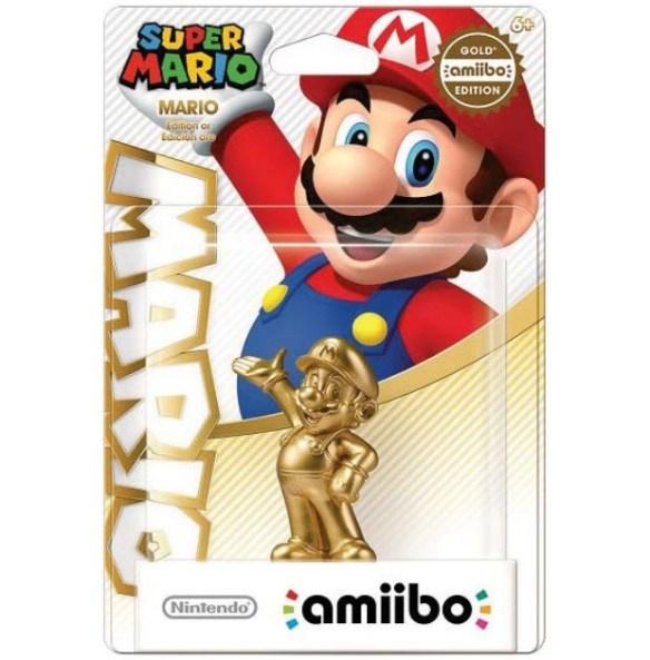 Amiibo Super Mario Oro
