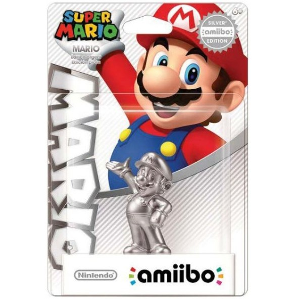 Amiibo Super Mario Plata