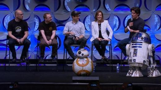 Star Wars The Force Awakens BB-8 R2D2