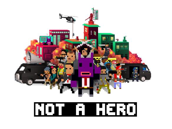 Not a Hero Wallpaper