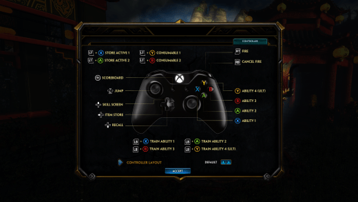 SMITE-Xbox-One-Controls